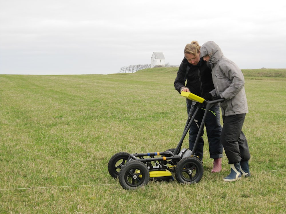 Gradiometer Survey Archaeology Gradiometer Survey in The