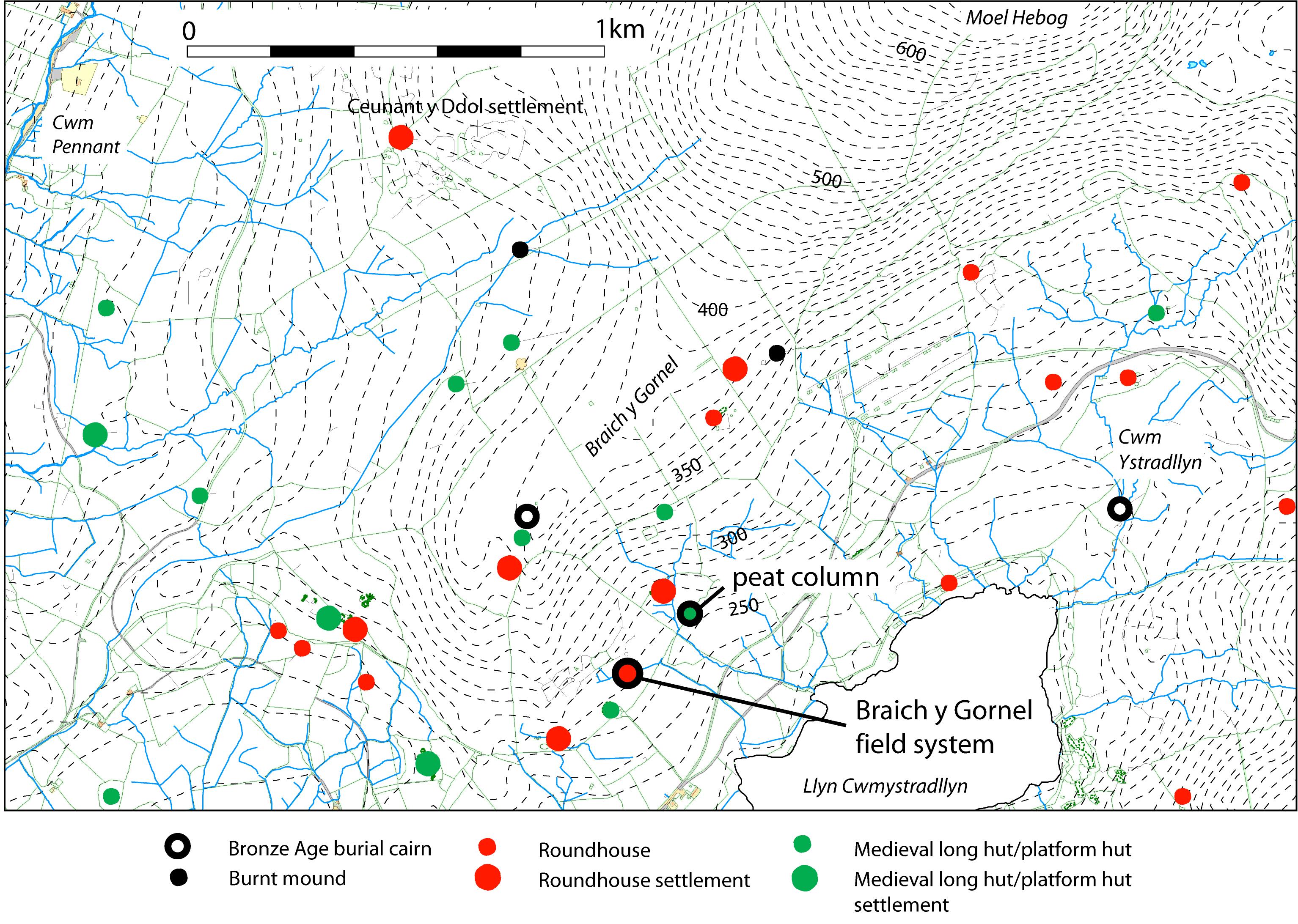 Case Study 2 : Braich y Gornel, Cwm Ystradllyn  Smith et al