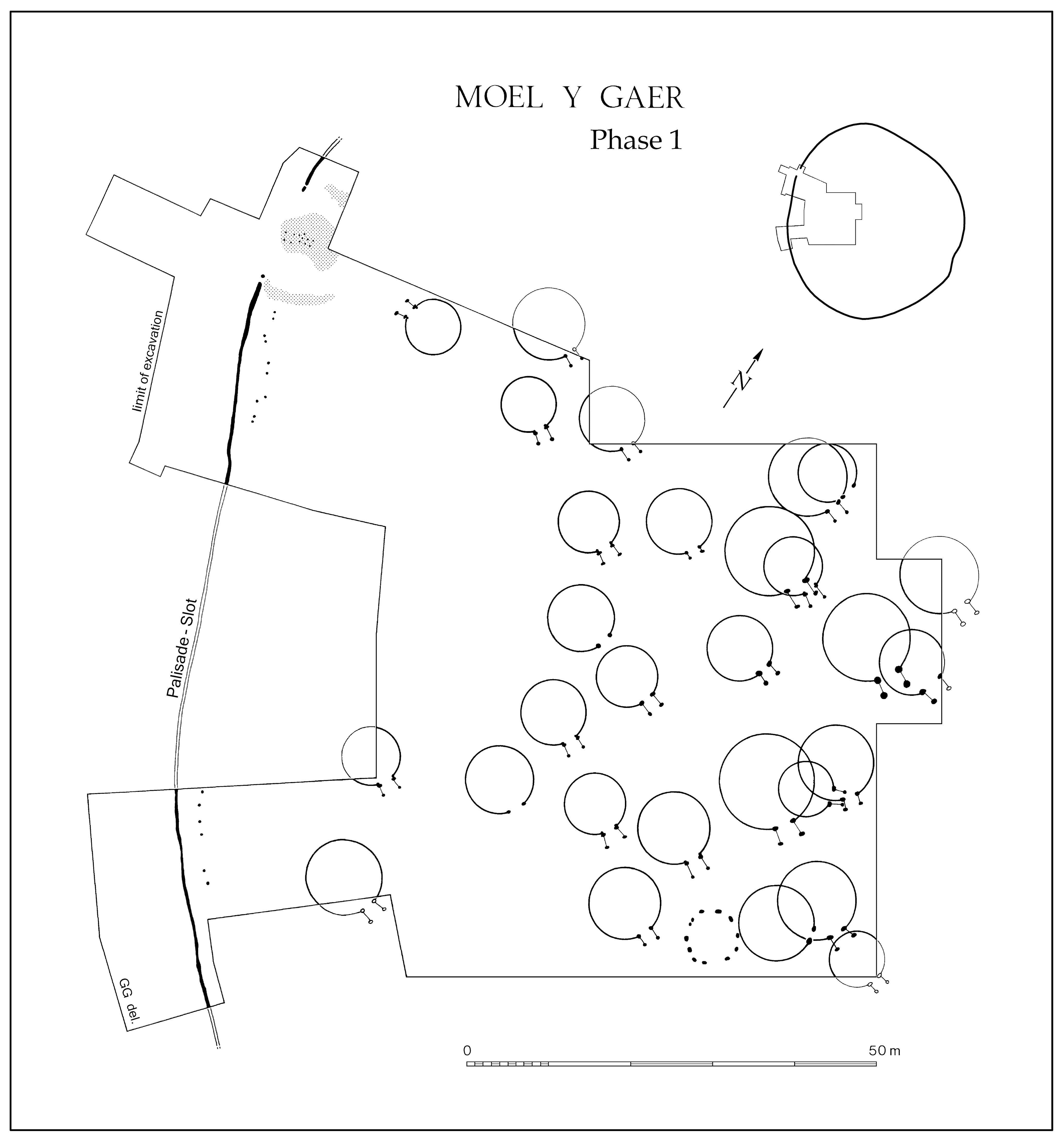 Moel y Gaer, Rhosesmor, Flintshire: Area-Excavation of